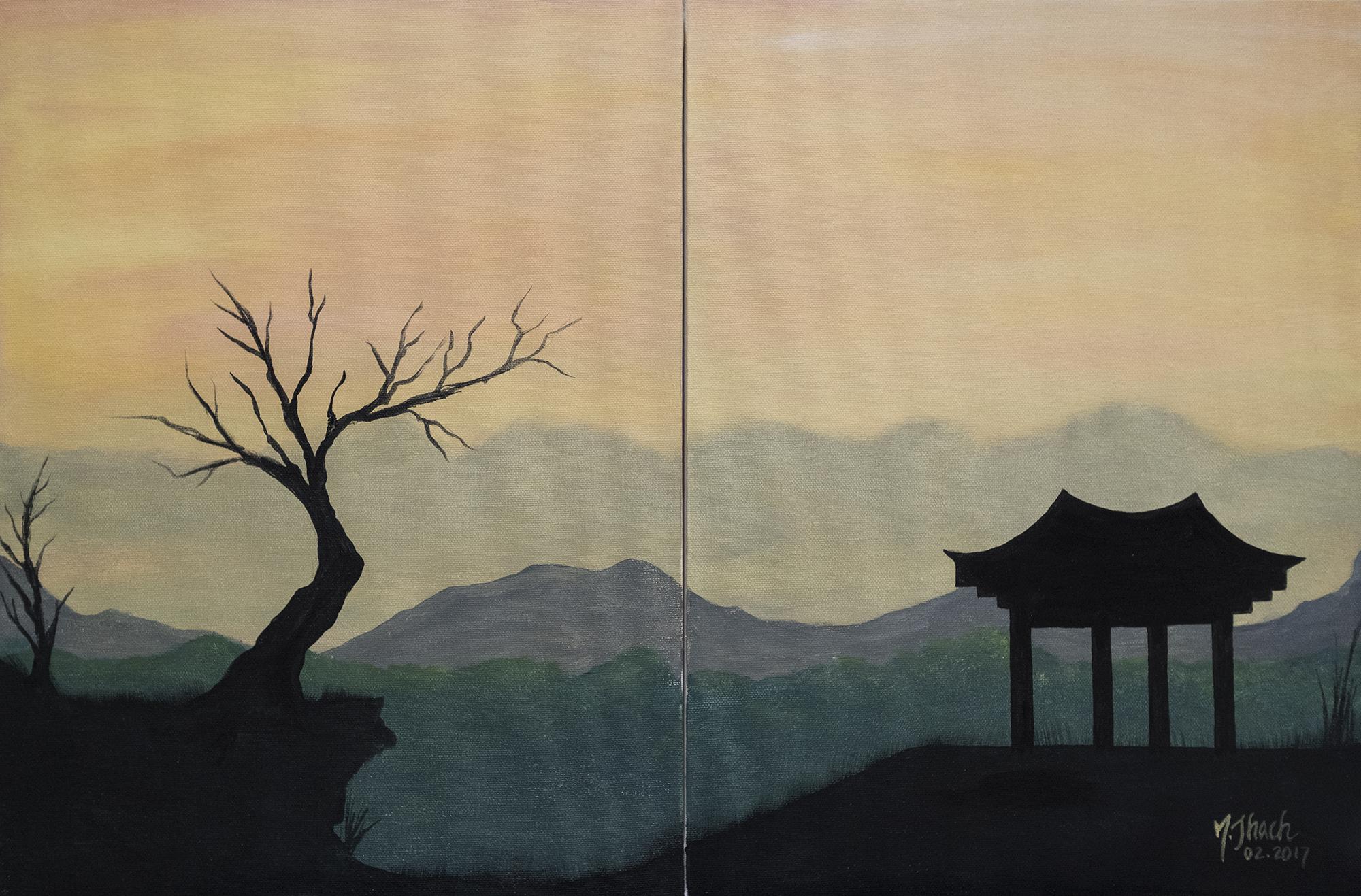 Dawn Romance Painting