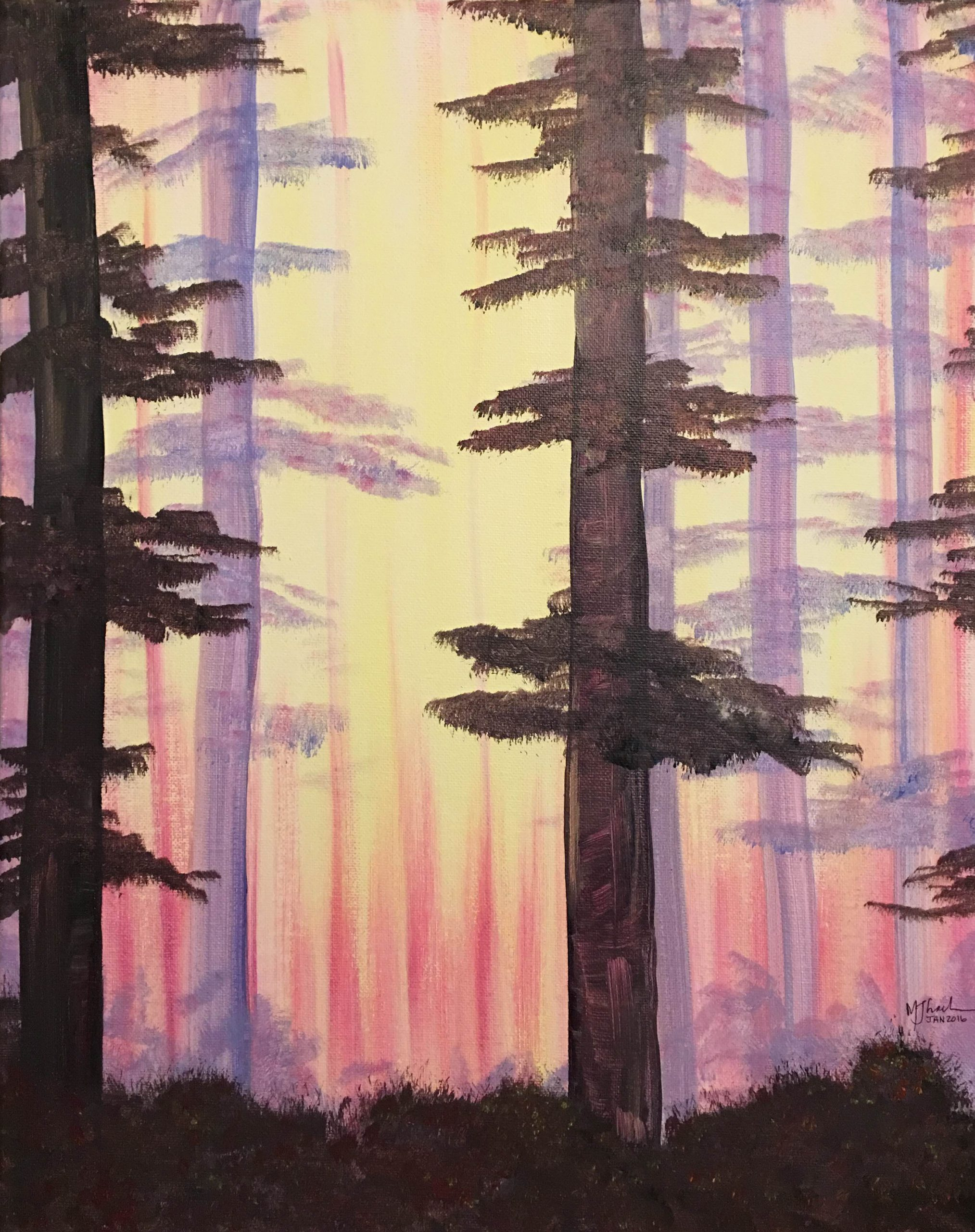 Into the woods Painting