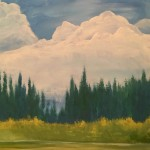 Serene Forest Painting